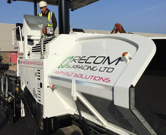Recom Surfacing - Asphalt Solutions