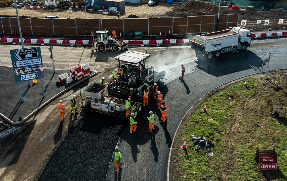 Road Resurfacing, Suffolk, UK - Recom Surfacing