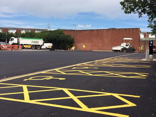 Car Park Surfacing - Tarmac, Porous Surfacing Solutions, East Anglia, Suffolk, UK