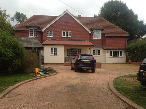 Driveway Surfacing - Tarmac, Porous Surfacing Solutions, East Anglia, Suffolk, UK