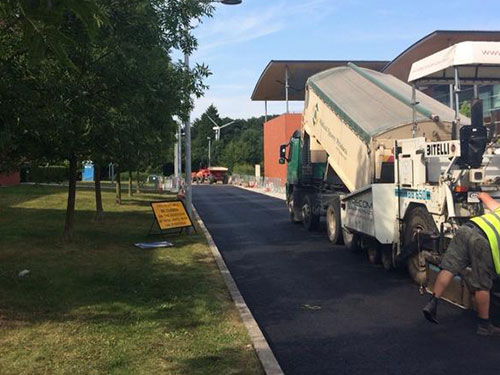 Footpath Surfacing - Tarmac, Porous Surfacing Solutions, East Anglia, Suffolk, UK