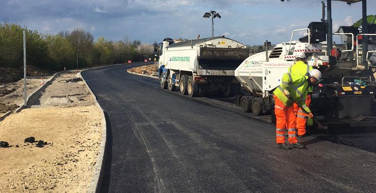 Full Road Reconstruction - Recom Surfacing