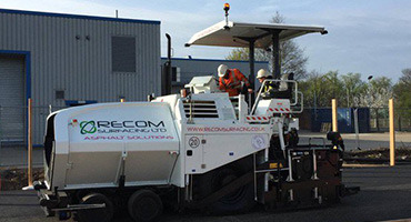 Asphalt Solutions by Recom Surfacing - Tarmac Surfacing Suffolk