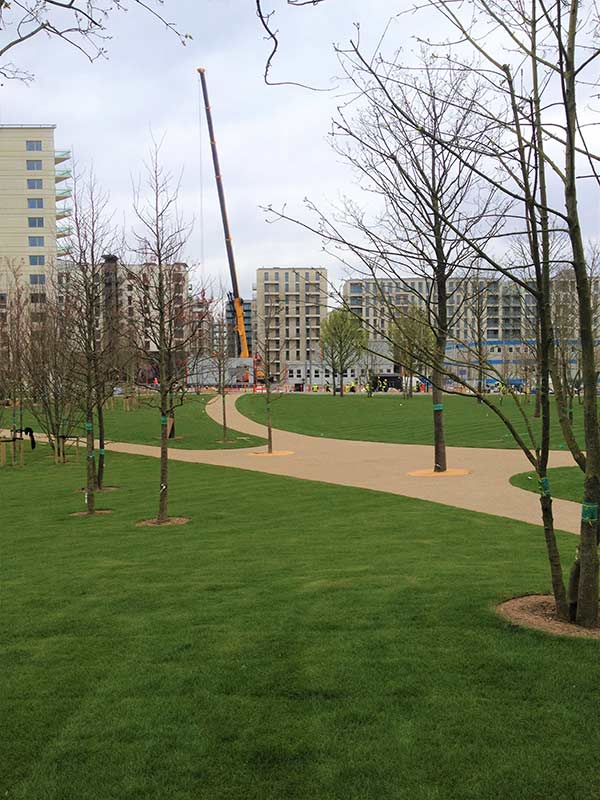 Athletes Village - Olympic Park - Recom Surfacing